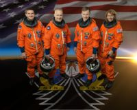 NASA STS-135 Official Crew Portrait
